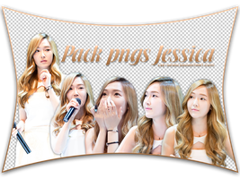 140806. PACK PNGS #5 - JESSICA by Lee-Yinah