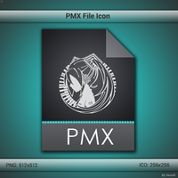 PMX File Icon by GarouD