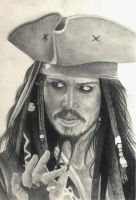 Captain Jack Sparrow by suvitvv