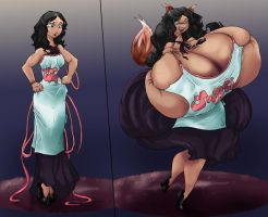 Juggalos- Elaine Before:After by SpiralingStaircase