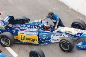 Michael Schumacher (Italy 1995) by F1-history