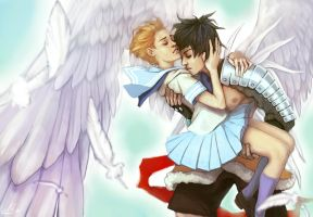 Escaflowne: love movie by viveer