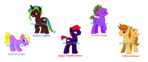~ My Male OCs ~ Group 1 by Cerulean-Wings