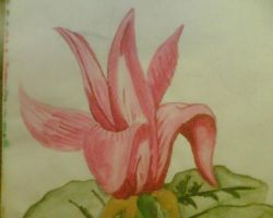 Flower Painting by AmyLou31