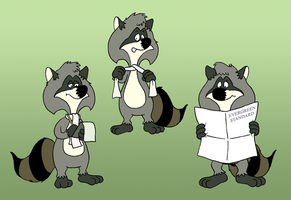 Ralph Raccoon by KrDoz