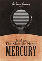 The Space Company: Mercury Poster by rgperez