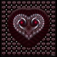 133 Hearts for Dee by Brigitte-Fredensborg