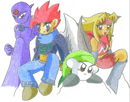 TTA Group Shot by Kirbopher15
