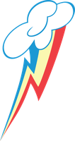 Rainbow Dash Cutie Mark by TwinklePie