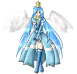 .:Full Body Commission:. Princess Argenta by DarkBox-V2K