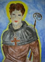 Saint Kentigern by Tricia-Danby