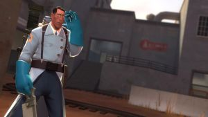 The Medic by ZE-UBER-MEDIC