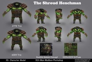 The Shround Henchman by iEvEtS