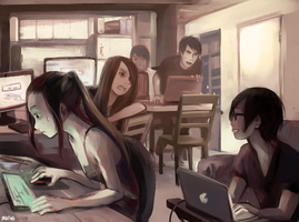 LAN PARTY by Kei-yo
