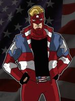 Holiday Fan Art - The Mighty American by Gaston25