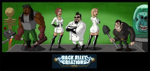 Back Alley Creations Logo by Hen-Hen