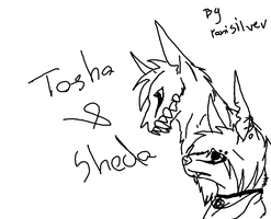 Tosha and Sheda by PaniSilver