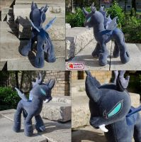 Changeling plushie by SewberryGarden