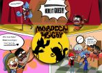 Mordecai and Rigby(Kenan and Kel parody) by xeternalflamebryx