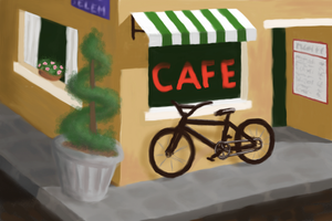 BicycleCafe by naca0012