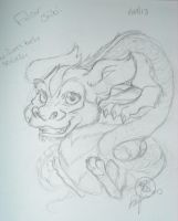 Falcor initial rough sketch 01 by Bee-chan
