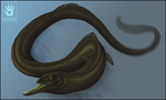 Harpoon eel by DemonML