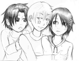 not-so-adult trio by UmiHoshi