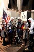 Assassin's Creed Cosplay at Gamescom 2013 by DarkyMoony