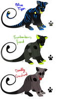 CLOSED - Meysters Adoptables 7-8-9 by LeaTenshi