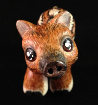 A Baby Boar  for my sister - Front by KimmersCustoms