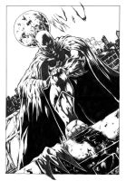 batman inked by darnet