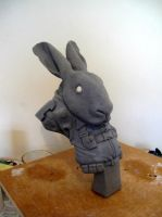 Space Rabbit Finished Sculpt 2 by Thomasotom