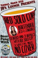 Red Solo Cup @ JB's Lounge by therealtommyg