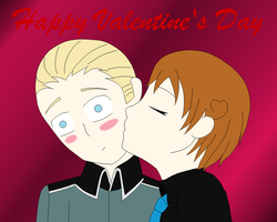 GerIta- Happy Valentines Day by Moon-Potato