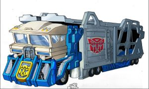 jake's magnus vehicle mode by DrewEiden