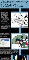 Coloring tutorial by DarkBullet777