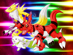 Digimon Tamers by RinaTiger-Art