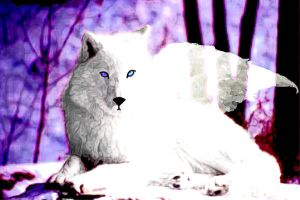 Guardian Spirit - Wolf by o0kittiesama0o