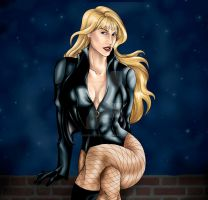 Black Canary - Dinah Lance by JGiampietro