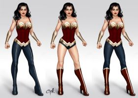 Wonder Woman Redesigns by cynthiafranca