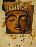 buddha..portrait by MrEz