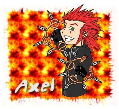 Chibi Axel by SarahRuthless