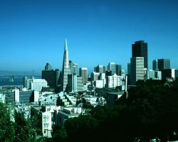 Downtown SF from Lombard St by photoscot