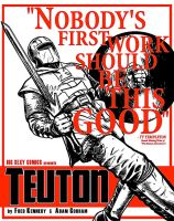 TEUTON Blurb Poster 1 by ADAMshoots