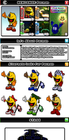 Newcomer Pacman + by evilwaluigi
