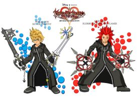 roxas and axel by Jim1088