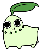 Chikorita by SuperOotoro