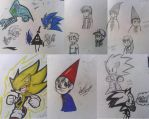 Sketch Dump: A bunch of random doodles by solarsonic21