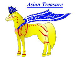 Asian Treasure by KamiraWolfDemon
