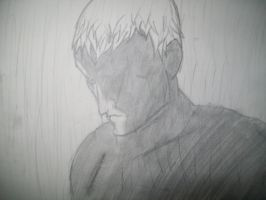 Roy Batty '...like tears in the rain' by CaptainStonebelly